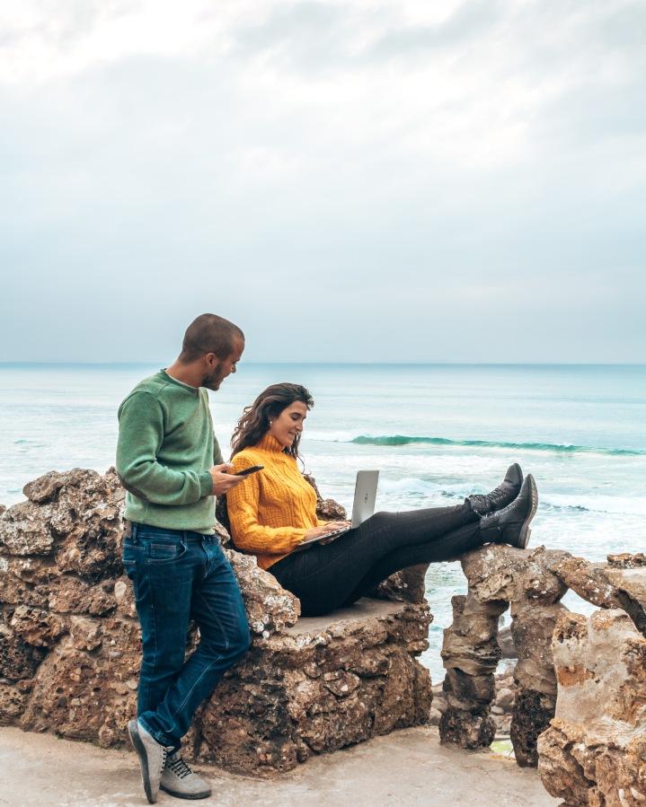 Nomadismo Digital : Trabalhar na internet a explorarPortugal