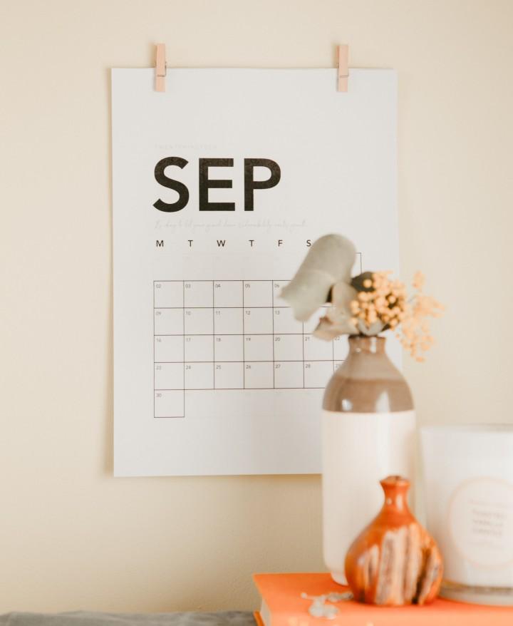 6 tarefas indispensáveis para fazer durante o mês desetembro