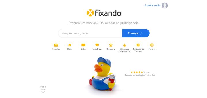 O novo Design daFixando!